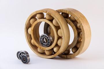 Rolling bearings.