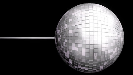 Disco Ball Mirrors Spin Loop