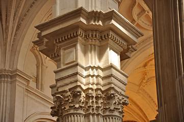 Catedral de Granada, España, pilar de Diego de Siloe