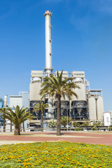 Incinerator plant in Barcelona