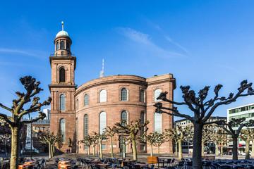 Paulskirche, famous Church in Frankfurt
