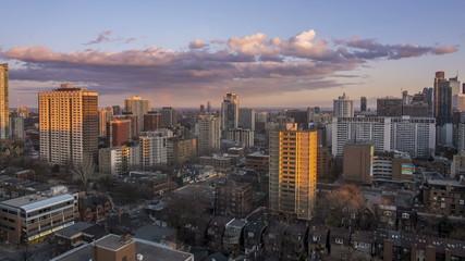Timelapse Sunset Toronto