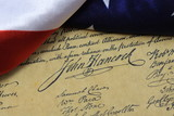 John Hancocks signature US constitution