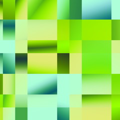 Plaid Green Pattern. Abstract Geometric Background.