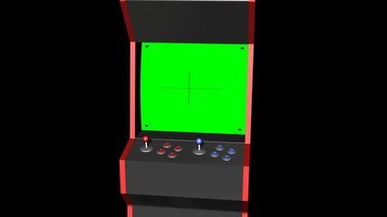 Arcade Machine Place Inner Screen