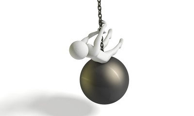 miley cyrus sulla palla demolitrice