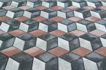 3d floor illusion