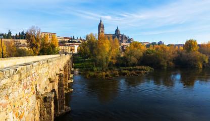 Autumn  view of Salamanca