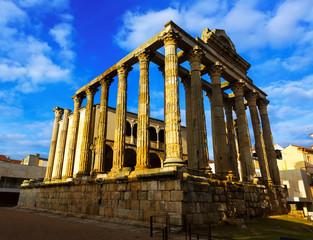 Temple of Diana. Merida, Spain