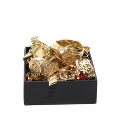 Ein Kästchen mit Gold