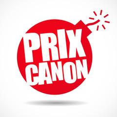 Prix canon !