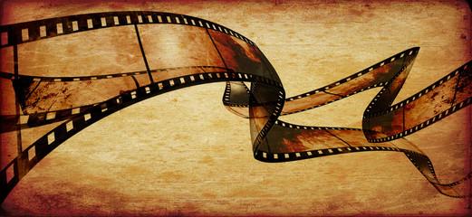 movie frames or film strip