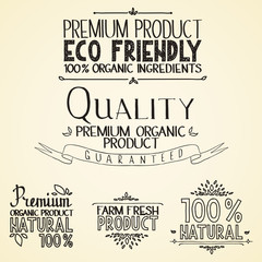 Premium quality organic health food headings natural product