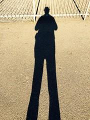 ombra di uomo