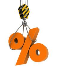 hook and percent