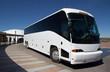 Leinwanddruck Bild - Tour Bus