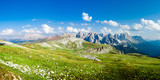 Alpine Landscape Panoramic