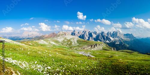 Alpine Landscape Panoramic © offfstock