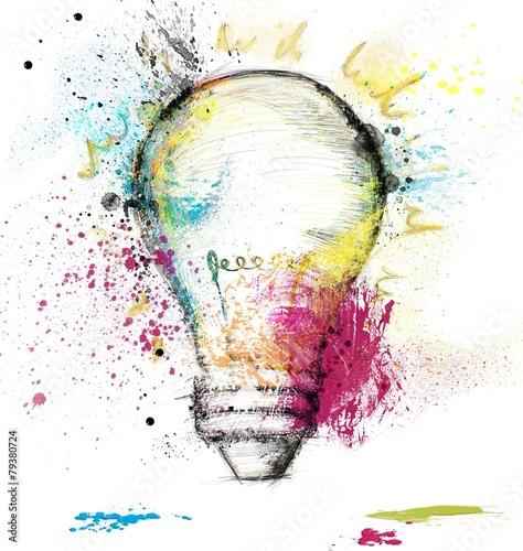 Leinwandbild Motiv Smart idea