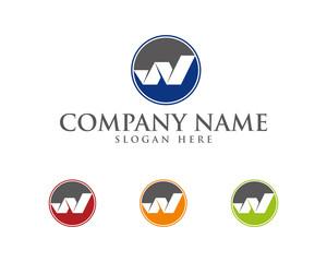W Letter Logotype