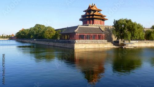Deurstickers Beijing La cité interdire