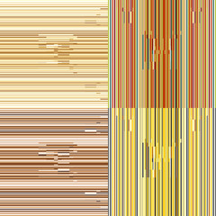 Set of abstract seamless background