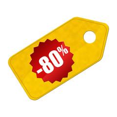 Soldes -80%