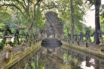 Paris. Old fountain Medici