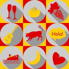 spain-icons