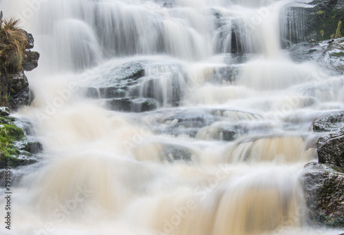 Waterfall in the Peak District National Park