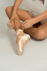 Particolare di ballerina