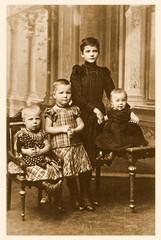 Kindheit vor 100 Jahren