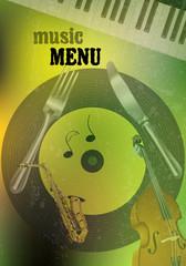 green music menu
