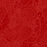 Vector seamless texture with abstract flowers