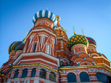 Fotoroleta Saint Basil's Cathedral on Red Square in Moscow