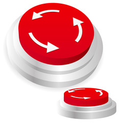 Machine operation button. Restart, repeat, recurring, sync, sync
