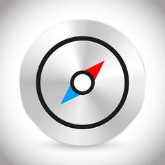 Compass icon, compass symbol