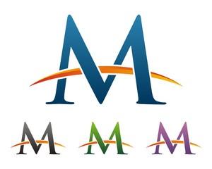 M Letter Circle v.2