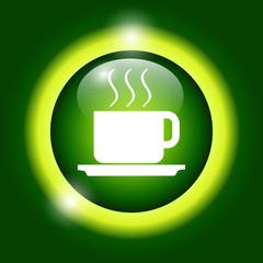 coffe vector illustration. Flat design style