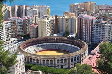 arena of Malaga town,Spain
