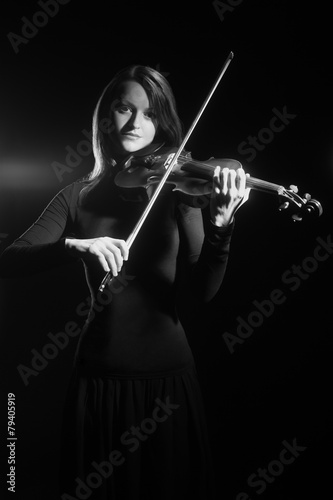 Violin player violinist classical musician
