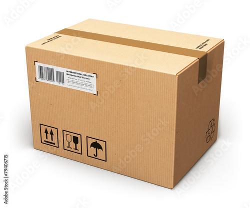 Cardboard box - 79406715