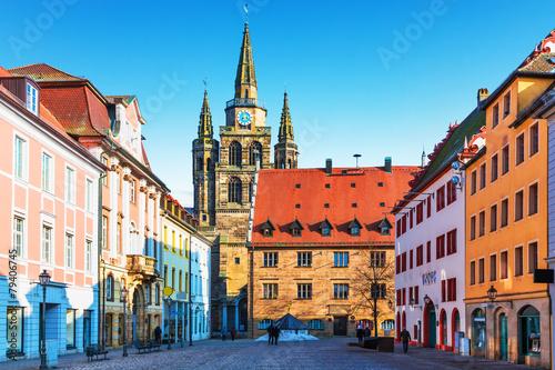 Leinwanddruck Bild Ansbach, Germany