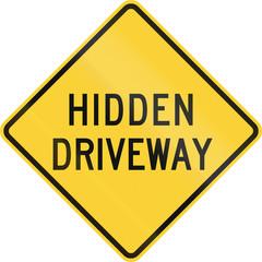 Hidden Driveway