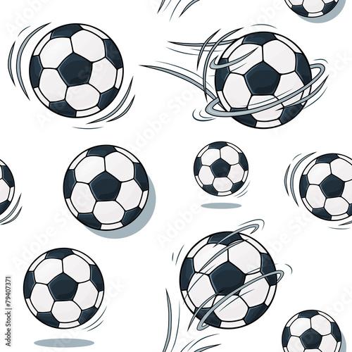 Aluminium Kunstmatig Soccer ball texture. Football set pattern.