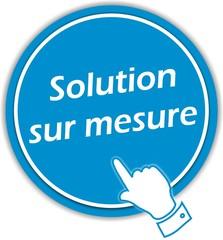 bouton solution sur mesure
