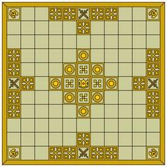 Hnefatafl gameboard