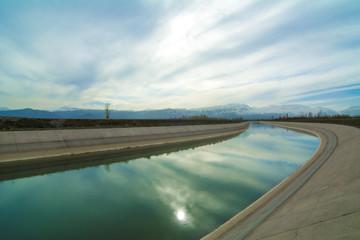 tarımsal sulama için kanallar