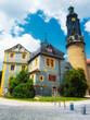 Weimarer Stadtschloss in der Stadtmitte von Weimar am Ilmpark