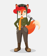 military fox-pilot that upstanding witch wrench